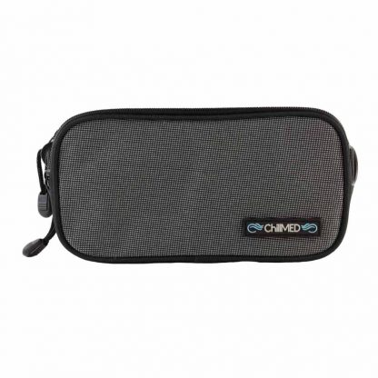 Gray ChillMED Carry-All Diabetic Bag with Measurements