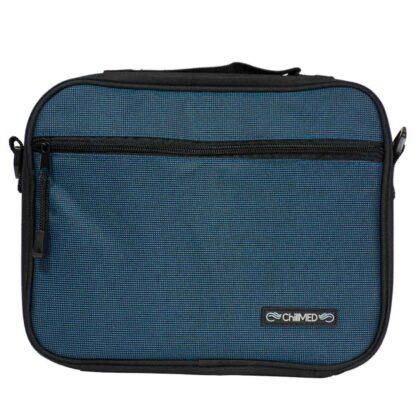 Blue ChillMED Premier Diabetic Travel Bag Front Facing