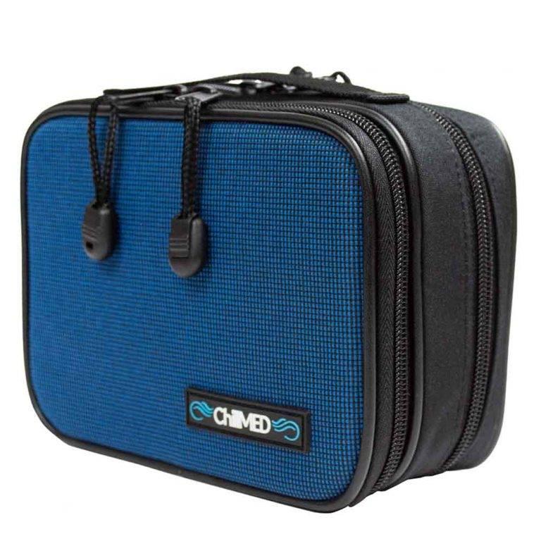 Blue Chillmed Type 1 Insulin Bag Side View