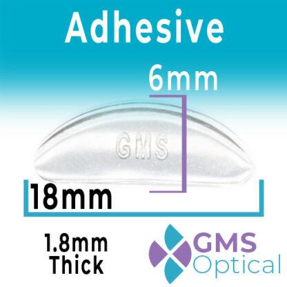 GMS Adhesive Nosepads