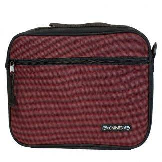 Red ChillMED Premier Diabetic Travel Bag Front Facing