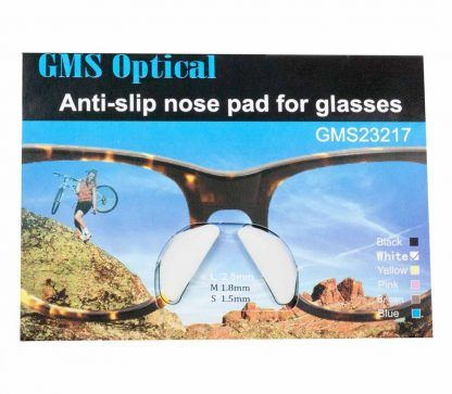 GMS Optical Contour Adhesive Silicone Nose Pads White
