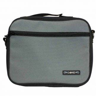 Grey ChillMED Premier Diabetic Travel Bag Front Facing