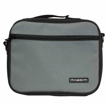 Grey ChillMED Premier Diabetic Travel Bag Front Facing