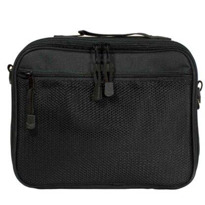 Grey ChillMED Premier Diabetic Travel Bag Back Facing