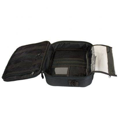 Grey ChillMED Premier Diabetic Travel Bag Open View Empty