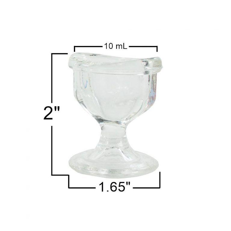 Glass Eye Wash Cup Measurements