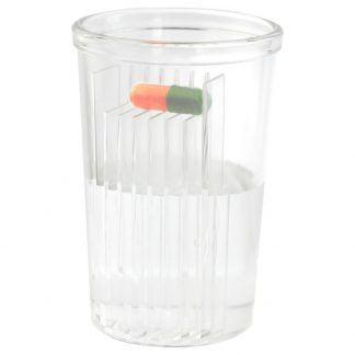 GMS Pill Swallowing Cup with Pill and Water