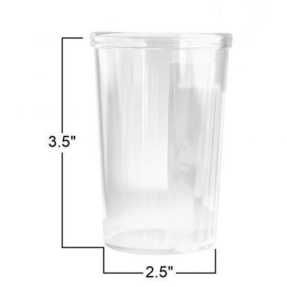 GMS Pill Swallowing Cup with Measurements: 3.5 Inches by 2.5 Inches