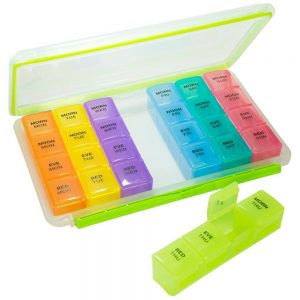 GMS Gasketed Pill Organizer