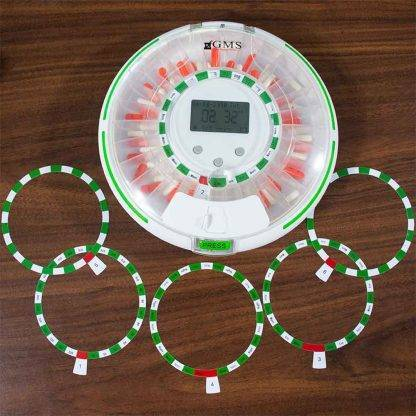GMS WiFi Automatic Pill Dispenser with 5 reminder discs
