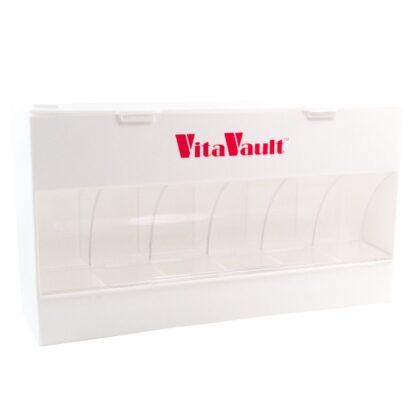 VitaVault Vitamin Dispenser Closed and Empty