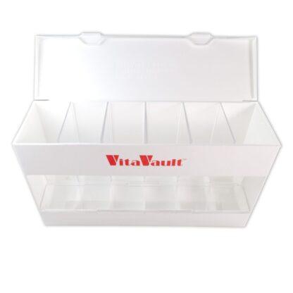 VitaVault Vitamin Dispenser Open and Empty