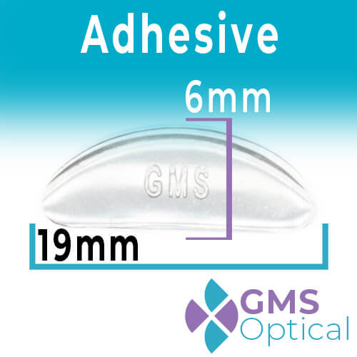 GMS Large Adhesive Nose Pads