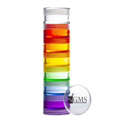 Rainbow Pill Case