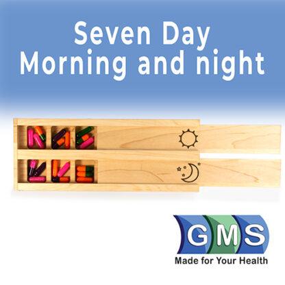 GMS Wooden Pill Box